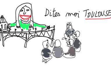 Visueel van project Dites-moi Toulouse Exposition Fraternelle participative