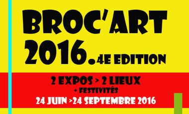 Project visual Broc'Art 2016, 4eme édition