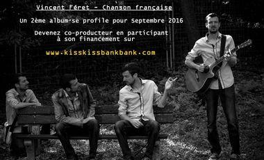 Visueel van project Vincent Féret sort son 2ème album