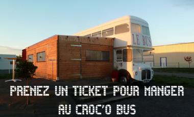 Project visual Prenez un ticket pour manger au Croc'O Bus