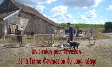 Visueel van project Un camion pour l'évasion de la ferme d'animation du Long Réage