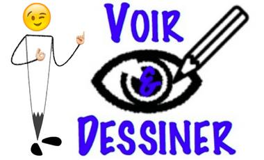 Project visual Voir et dessiner : une nouvelle méthode d'apprentissage du dessin.