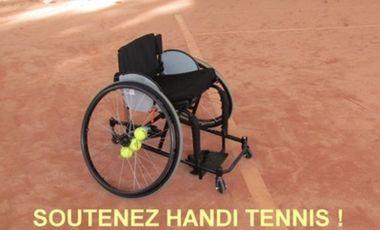 Project visual SOUTENEZ HANDI TENNIS !