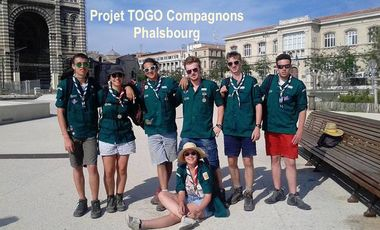 Project visual Projet TOGO - Compagnons Phalsbourg
