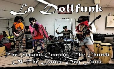 "Visueel van project La DollFunk - Nouvel Album : ""The Second Coming: The Church of The Latter-Day Funk"""
