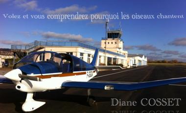 Visueel van project Objectif - HOP ! Tour Aérien des Jeunes Pilotes 2016 - Diane COSSET