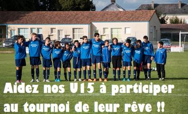 Project visual Aidez nos U15 à participer à un tournoi International