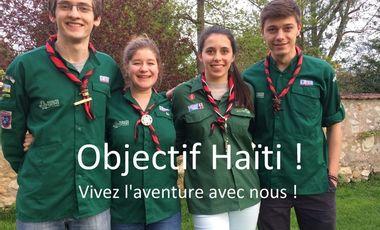 Project visual Objectif Haïti : Vivez l'aventure avec nous !
