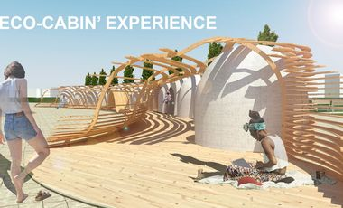 Project visual ECO-CABIN' EXPERIENCE