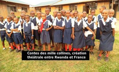 Project visual Contes des mille collines, théâtre entre Rwanda et France