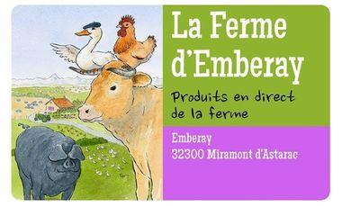 Visuel du projet LA FERME D'EMBERAY - Volailles et porcs bio