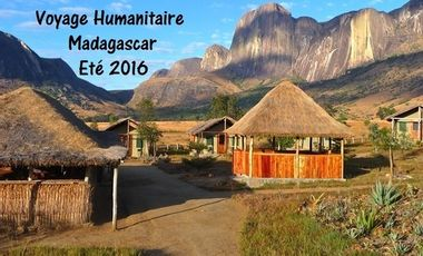 Visueel van project Humanitaire à Madagascar : I like to move it move it