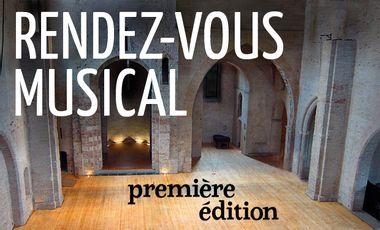 Project visual RENDEZ-VOUS MUSICAL | première édition