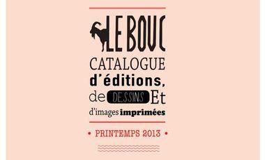 Visuel du projet Magazine Le Bouc : revue d'image, de dessin et de graphisme.
