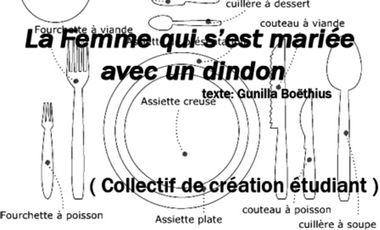 Visueel van project La Femme qui s'est mariée avec un dindon, de Gunilla Boëthius