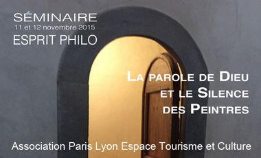 Visueel van project ESPRIT PHILO : LA PAROLE DU DIEU ET LE SILENCE DES PEINTRES