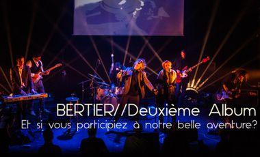 Project visual Nouvel Album de BERTIER