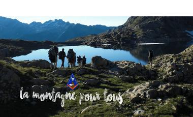 Project visual La Montagne pour tous