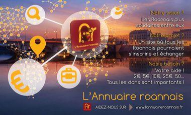 Project visual Ensemble, transformons le site internet de l'Annuaire roannais