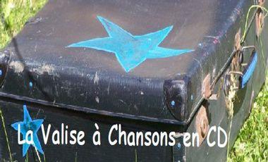 "Visueel van project ""La Valise à Chansons"" en CD"
