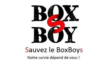 Project visual Sauvez le BoxBoys