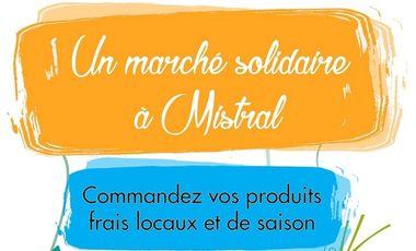 Visuel du projet Marché Solidaire Mistral