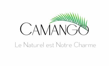"""Visueel van project """"CAMANGO"""" - le soin 100% naturel et Bio pour les cheveux crépus à ondulés."""