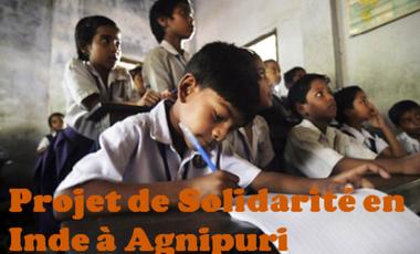 Project visual Projet de Solidarité en INDE à Agnipuri