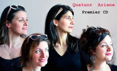 Project visual Le Quatuor Ariane enregistre un CD!