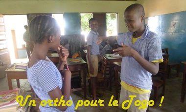Visueel van project Un ortho pour le Togo !
