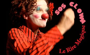 Visueel van project SOS CLOWN- LE RIRE MAGIQUE