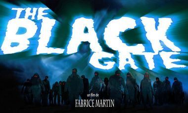 """Visueel van project La Porte Noire                                        """"The Black Gate"""""""
