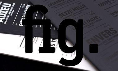 Visueel van project fig. revue de critique architecturale