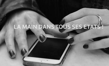 """Visueel van project """"La main dans tous ses états"""" : une expo photo, enfin!"""