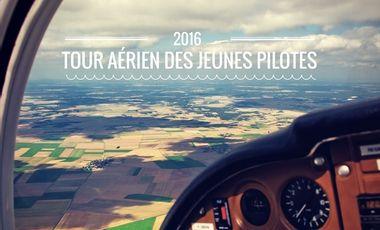 Visueel van project Objectif - HOP ! Tour Aérien des Jeunes Pilotes 2016 - Tony PETRILLI