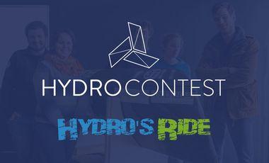 Visueel van project Hydro's Ride relève le défi Hydrocontest 2016