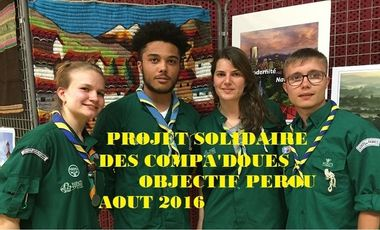 Project visual Objectif Pérou mission solidaire SGDF