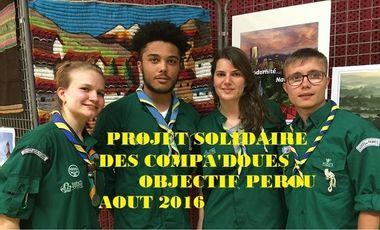 Visuel du projet Objectif Pérou mission solidaire SGDF