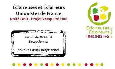 Visuel du projet EEUdF FMR - Fais Moi Rêver ! - Matériel pour partir camper en Europe