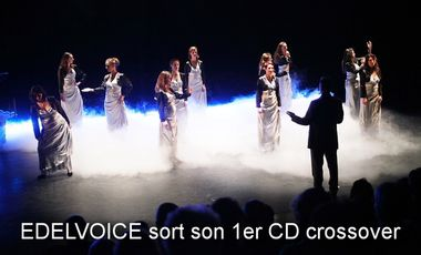 Project visual EDELVOICE sort son 1er album crossover.