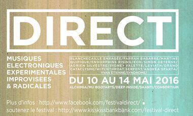 Visuel du projet Festival Direct