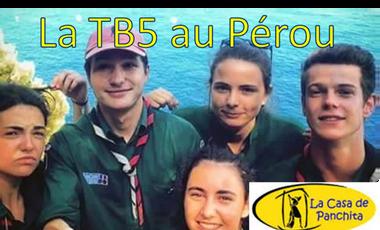Project visual Le projet solidaire de la TB5 au Pérou avec la Casa de Panchita