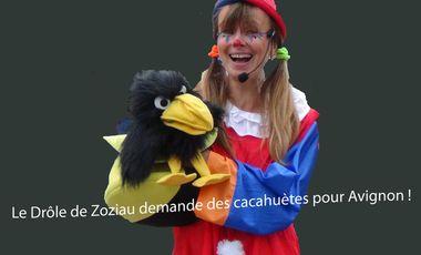 Project visual Le drôle de Zoziau à Avignon