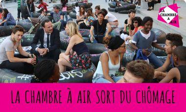 Visueel van project LA CHAMBRE A AIR SORT DU CHÔMAGE