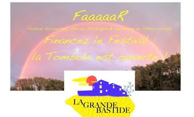 Visuel du projet TOMBOLA pour le FaaaaaR de la Grande Bastide de Rians (83)