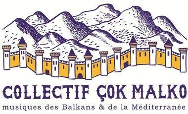 Project visual Collectif Çok Malko - Aide à la Diffusion des musiques des Balkans & de la Méditerranée