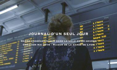 Project visual JOURNAL d'un SEUL JOUR