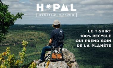 Visuel du projet Hopaal : le T-shirt 100% recyclé