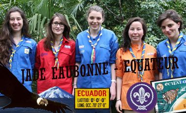 Project visual Projet JADE  - solidarité et partage culturel en Equateur