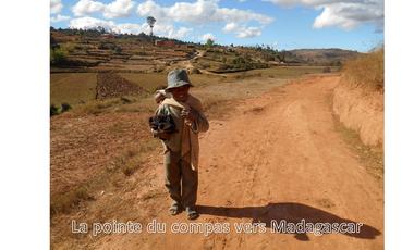 Project visual La pointe du Compas vers Madagascar